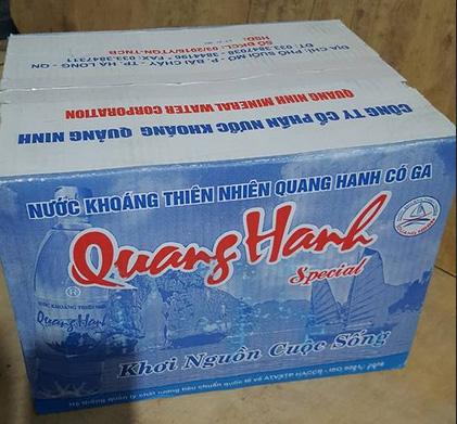 Nước khoáng Quang Hanh
