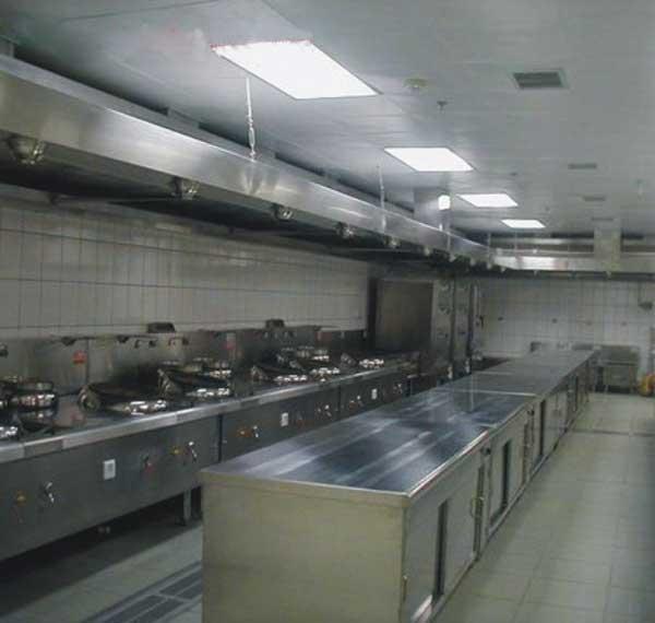Mô hình bếp công nghiệp inox