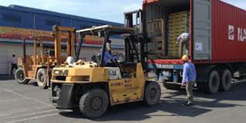 Vận tải cho xe nâng, xe cẩu