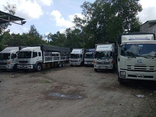Vận tải đường bộ hàng hóa Bắc-Nam