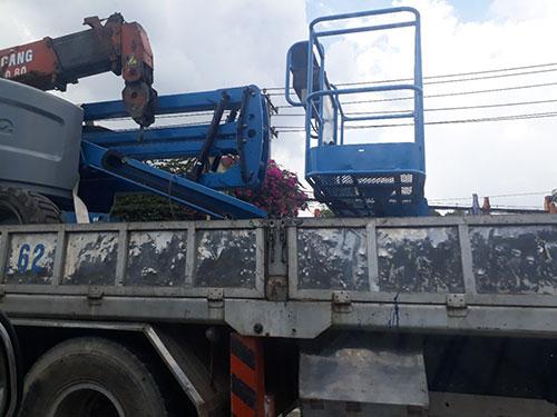Vận chuyển máy công trình