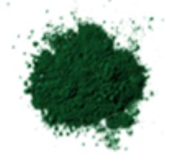 Bột màu oxit xanh lá