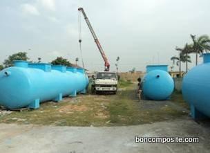 Bồn Composite xử lý nước thải sinh hoạt