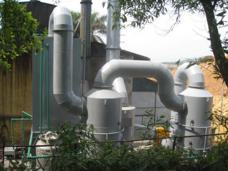 Xử lý khí thải-Cty Nam Sơn