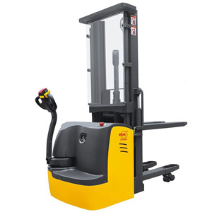 Double Pallet Electric Stacker