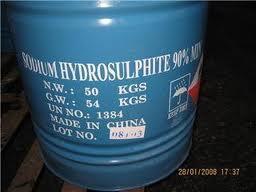 Na2S2O4 - SODIUM HYDROSULPHITE tẩy đường