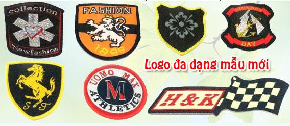 Logo đa dạng mẫu
