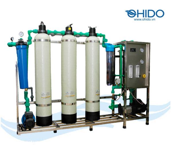 Dây chuyền lọc nước RO Ohido 125 lh