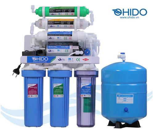 Máy lọc nước RO Ohido 7 cấp lọc