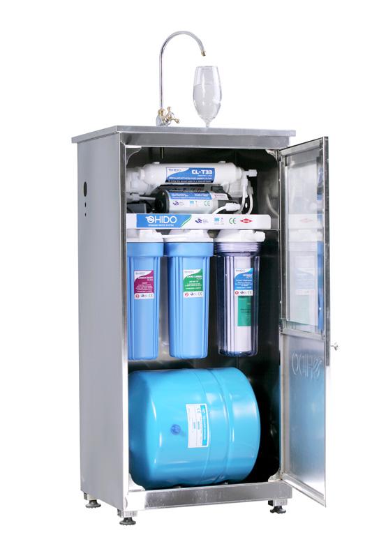Máy lọc nước Ohido có vỏ