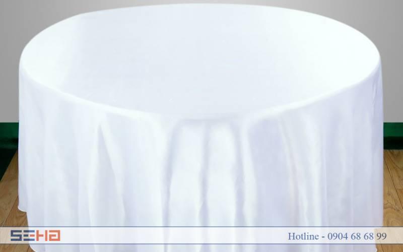 Khăn bàn trắng
