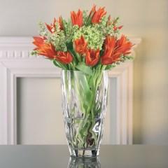 Lọ hoa thủy tinh, pha lê