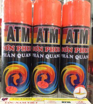 Sơn xịt phản quang ATM Đỏ cam