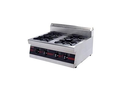 Bếp âu 4 họng kèm lò nướng