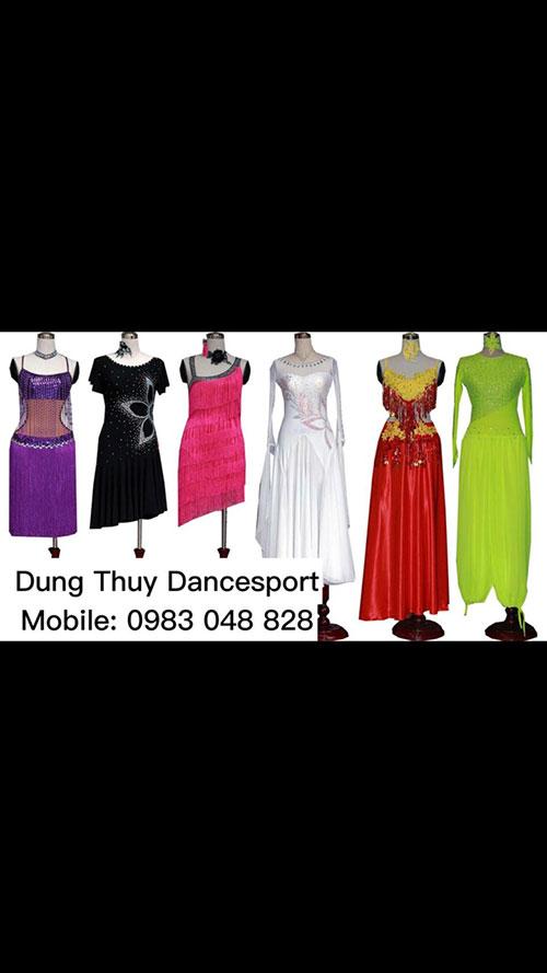 Váy khiêu vũ nữ