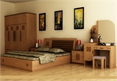 Nội thất phòng ngủ lớn