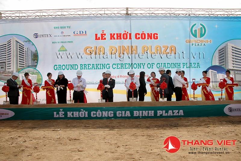 Lễ khởi công Gia Định Plaza
