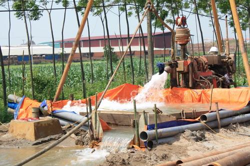 Xin giấy phép khai thác nước ngầm
