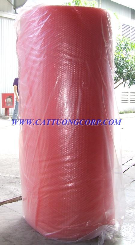 Cuộn xốp hơi Cát Tường màu đỏ