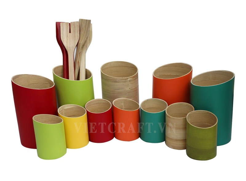 Round-Bamboo-Utensil-Holder