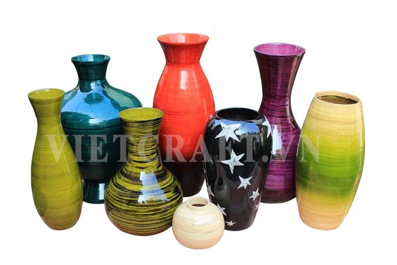 vietnam-bamboo-vases