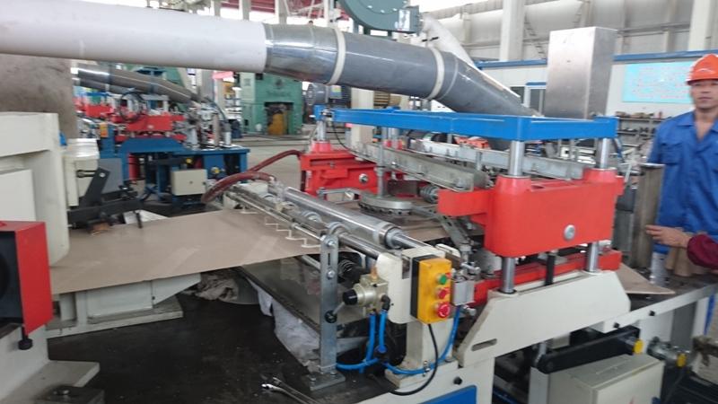 Dây chuyền sản xuất lõi sợi, lõi giấy côn đầu