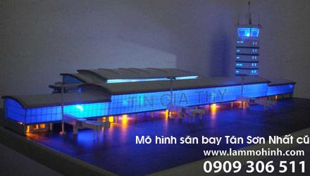 Mô hình sân bay Tân Sơn Nhất