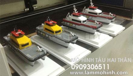 Mô hình tàu hai thân