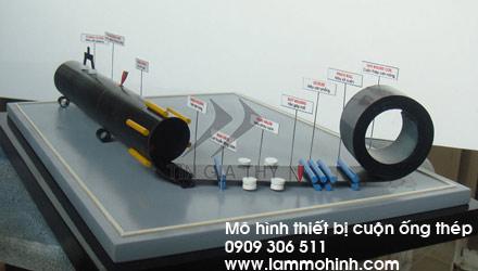 Mô hình cuộn ống thép