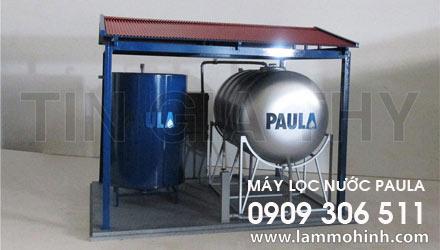 Mô hình máy lọc nước Pau