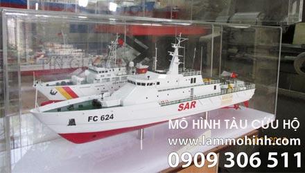 Mô hình tàu cứu hộ