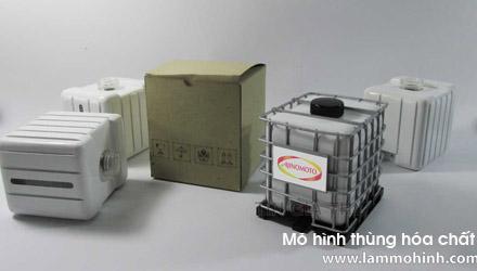 Mô hình thùng hóa chất