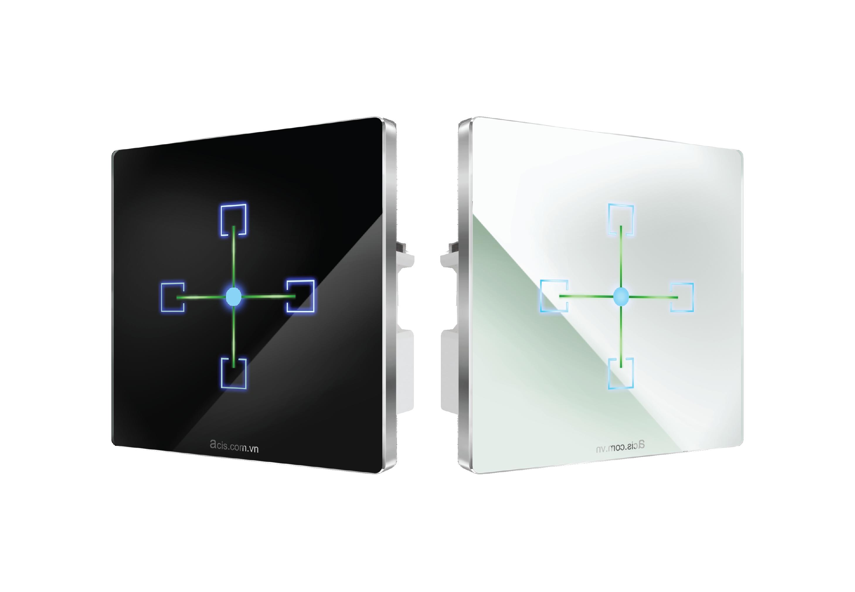 Bảng điều khiển cảm ứng vuông gắn tường