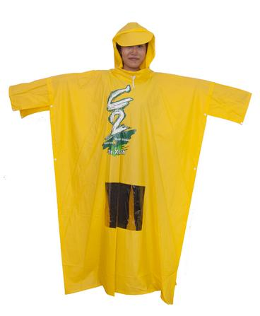 áo mưa quảng cáo