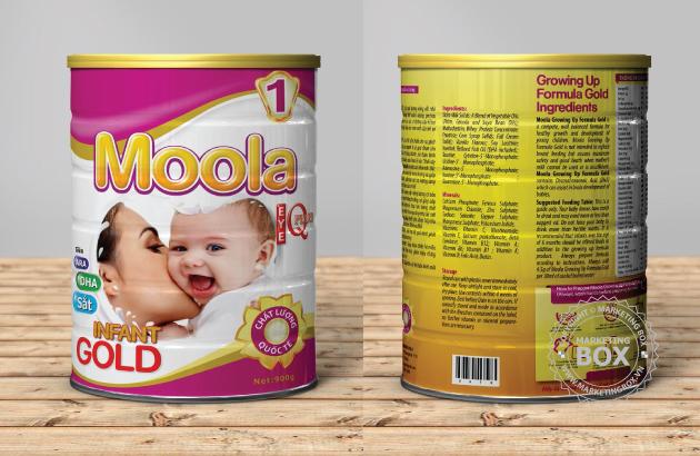 Bao Bì Sữa Bột Moola