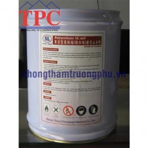 Dung dịch chống thấm PU tạo bọt thấm nước SL-669