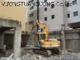 Tháo dỡ công trình nhà để xe
