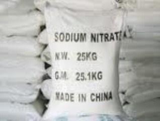 Sodium Nitrate (NaNO3)