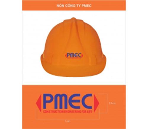 In logo trên nón bảo hiểm