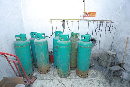 Nguyên liệu đốt gas
