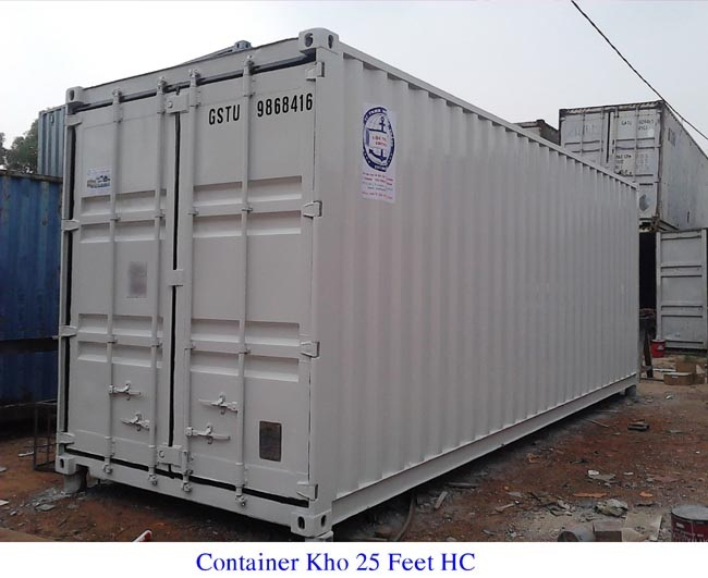 Container kho 25feet