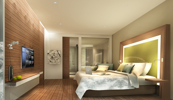 Serviced-apartment - Bedroom