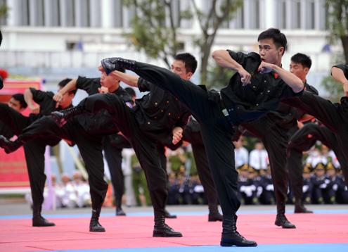 Thao luyện võ thuật