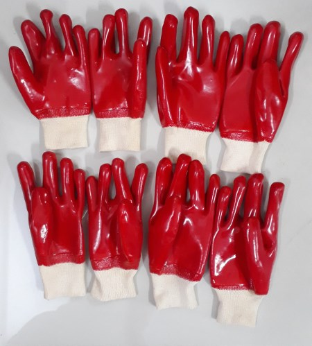 Găng tay phủ cao su