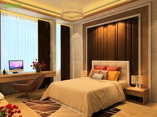 Nội thât phòng ngủ chính