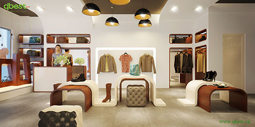 Nội thất cửa hàng, showroom