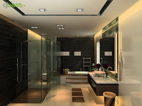 Nội thất phòng tắm biệt thự