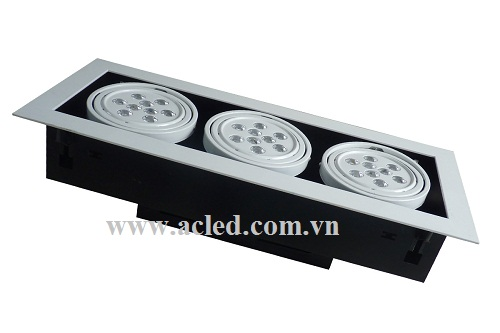 Đèn Led Downlight-3-Head-9w