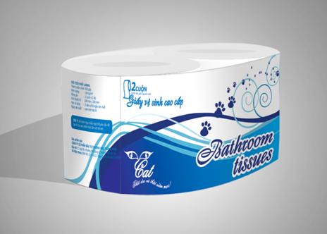 Giấy vệ sinh Cat Prenium