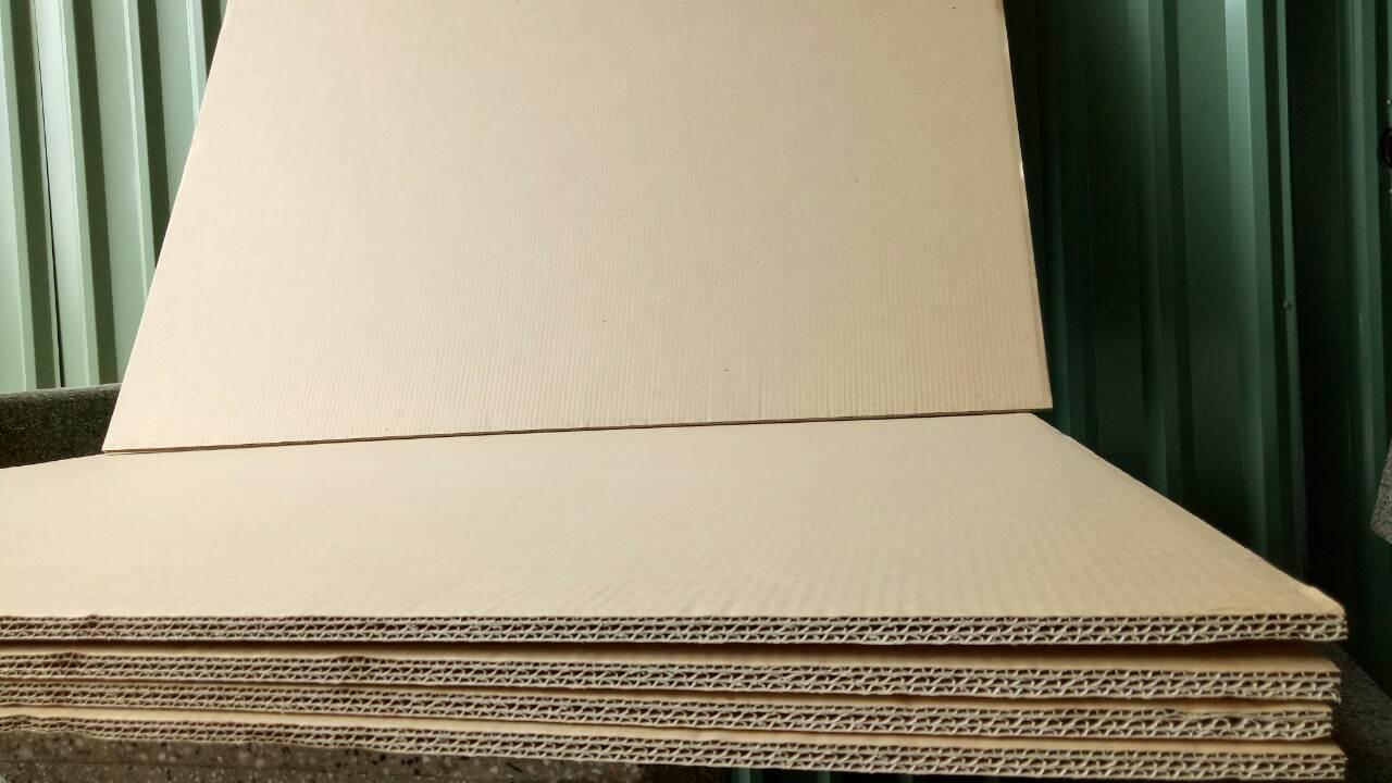 Thùng carton, giấy tấm 7 lớp